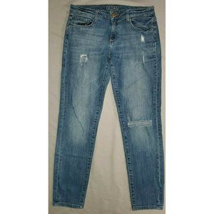 DL1961 Azalea Relaxed Skinny Jeans Distressed